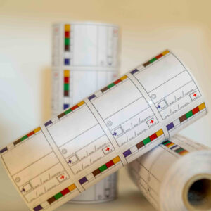 Navulling DELUXE Pictolabel4all (3 rollen a 1000 labels) (NL)