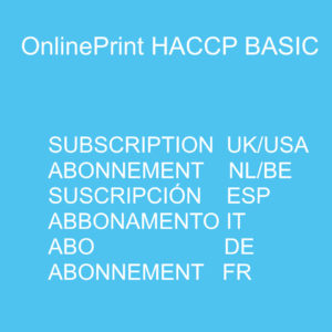HACCP Online Subscriptions